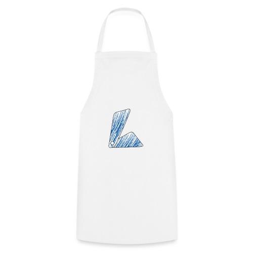 lettera L blu - Grembiule da cucina