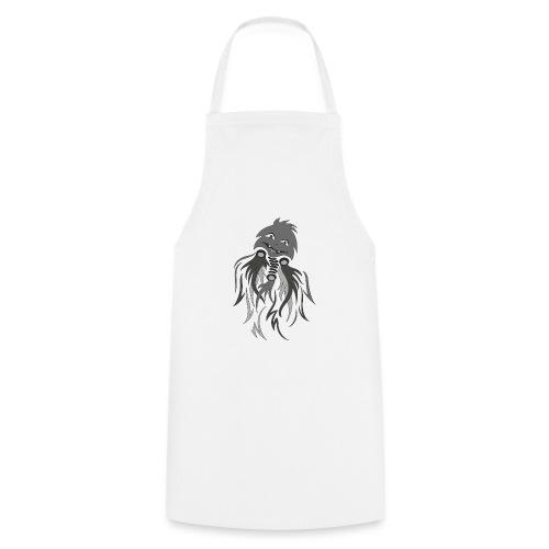 fantasma halloween grigio - Grembiule da cucina