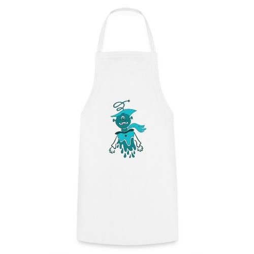 robot alieno di latta - Grembiule da cucina