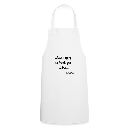 Nature for Stillness - Cooking Apron