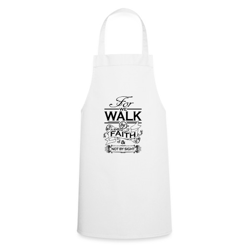 walk black - Cooking Apron