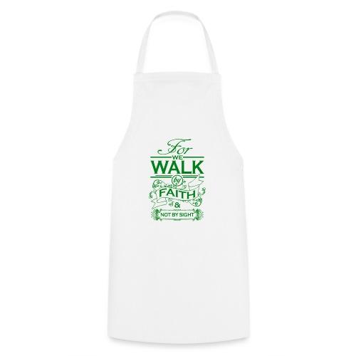 walk green - Cooking Apron