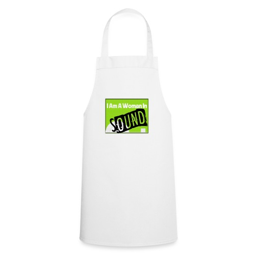 I am a woman in sound - Cooking Apron