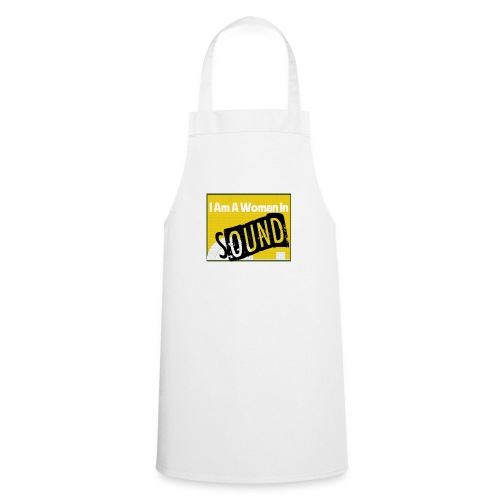 I am a woman in sound - yellow - Cooking Apron