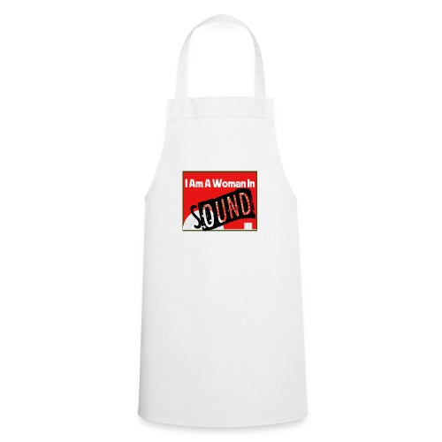 I am a woman in sound - red - Cooking Apron