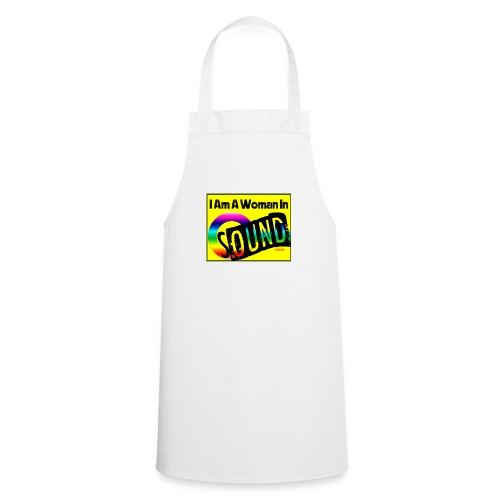 I am a woman in sound - rainbow - Cooking Apron