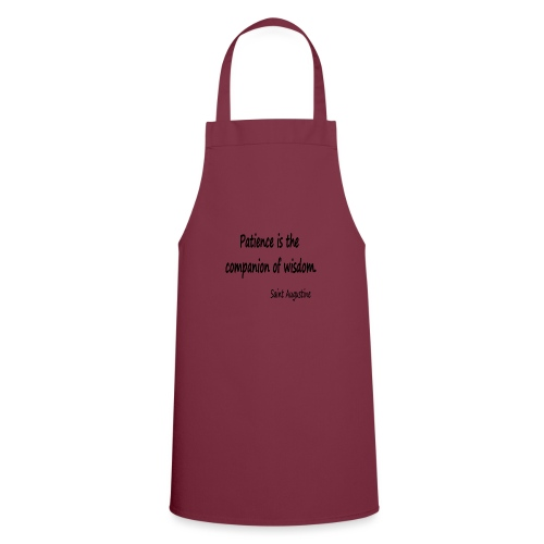 Peace and Wisdom - Cooking Apron