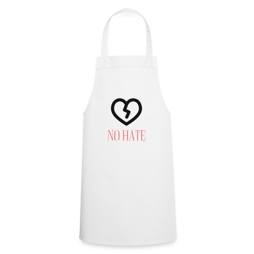 No Hate Logo - Cooking Apron