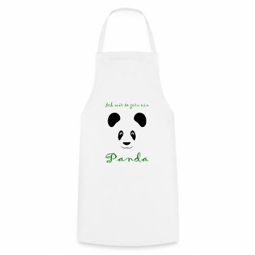 Ich wär so gern ein Panda - Cooking Apron