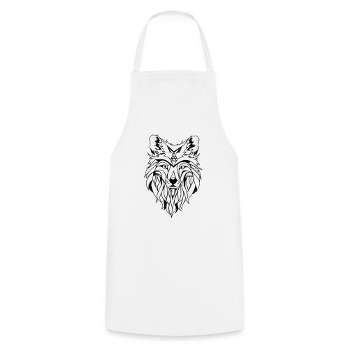 Hipster Wolf - Kochschürze