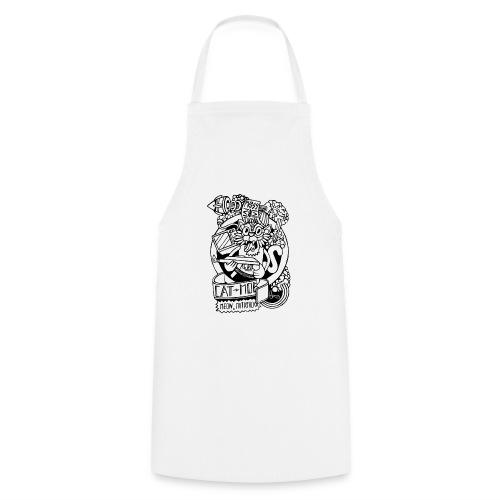 #CATMOB: Meow, mutafucka! (Outline) - Delantal de cocina