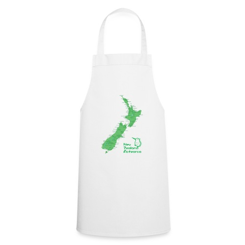 New Zealand's Map - Cooking Apron