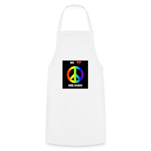 ORLANDO PEACE BLACK - Cooking Apron