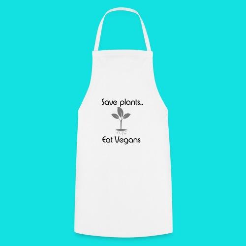 Eat Vegan(s) White - Cooking Apron