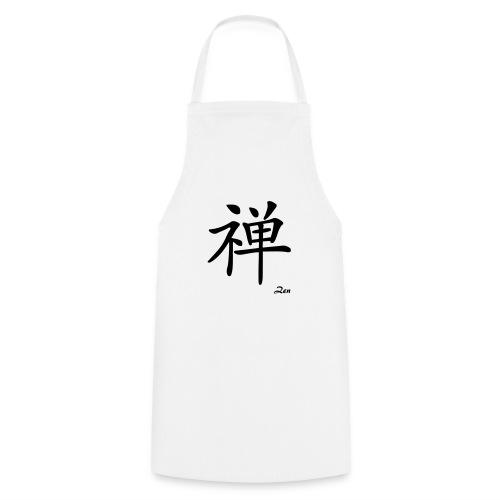 signe chinois zen - Tablier de cuisine