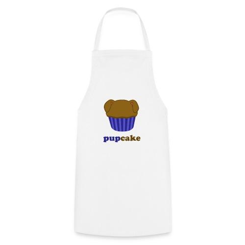 pupcake blauw - Keukenschort