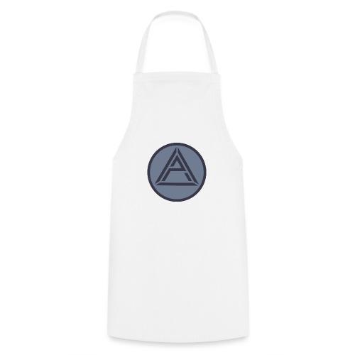 AP Logo Graublau - Kochschürze