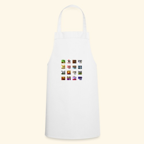 A Planet of Mine Animals - Cooking Apron