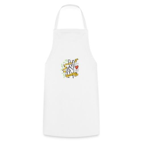 Peace and Love - Tablier de cuisine