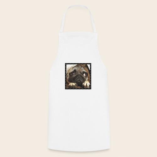 Mops Hund 1 - Kochschürze