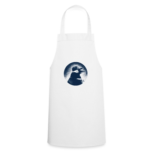 Pinguin dressed in black - Cooking Apron