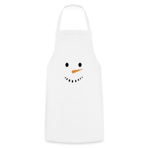 Bonhomme de neige Noël Hiver - Tablier de cuisine