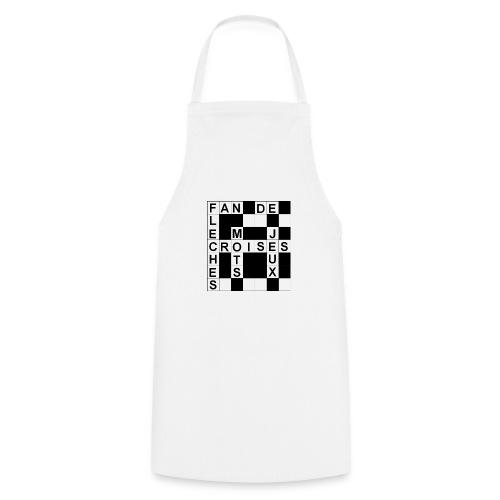 Fan de mots croisés - Tablier de cuisine