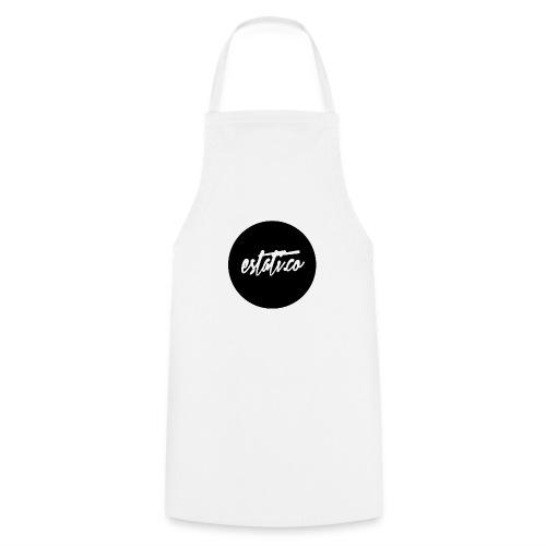 Taza blanca / punto - Delantal de cocina