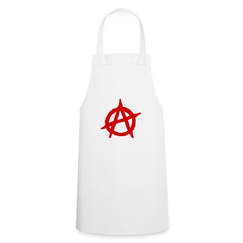 Anarchy logo rosso - Grembiule da cucina
