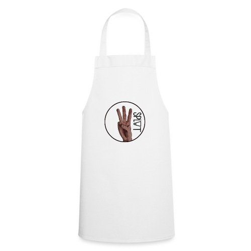 Plain Mens Split Skateboarding Small Logo T-Shirt - Cooking Apron