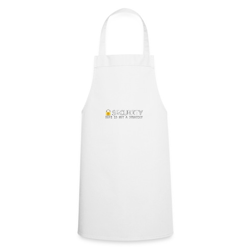Hope is not a Strategy - Cooking Apron