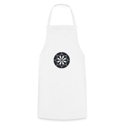 Sanja Matsuri Komagata mon dark grey - Cooking Apron