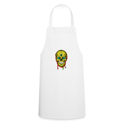 Dipped Sugar Skull - Cooking Apron