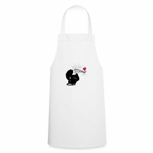 gatto meow - Grembiule da cucina