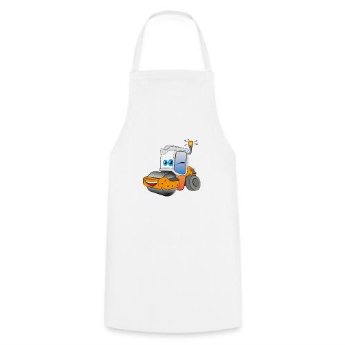 Baumaschine Straßenwalze Erdbau Bauarbeiter - Kochschürze