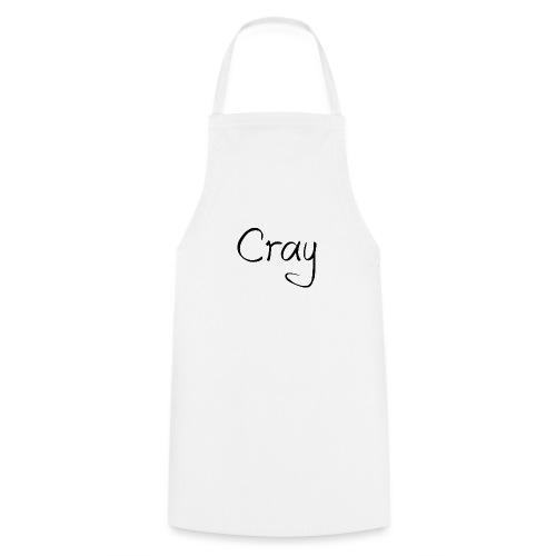 Cray Black Schrifft - Kochschürze