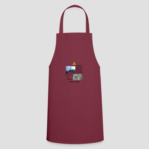 no nuclear button Who is next? - Cooking Apron