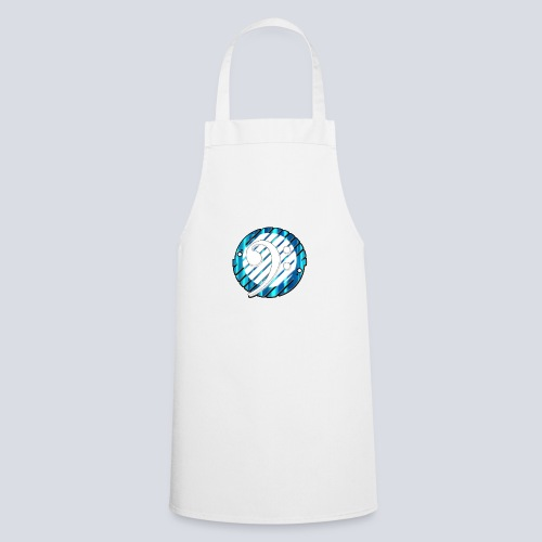 BassClef blue/white - Cooking Apron