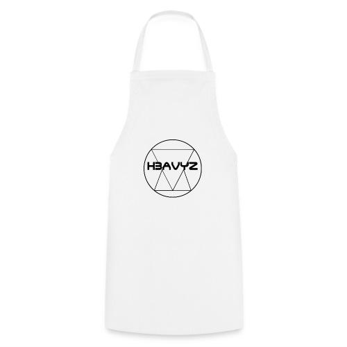 H3AVYZ- Pull gris chiné - Tablier de cuisine