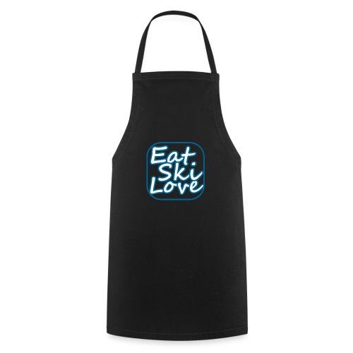 eat ski love - Keukenschort