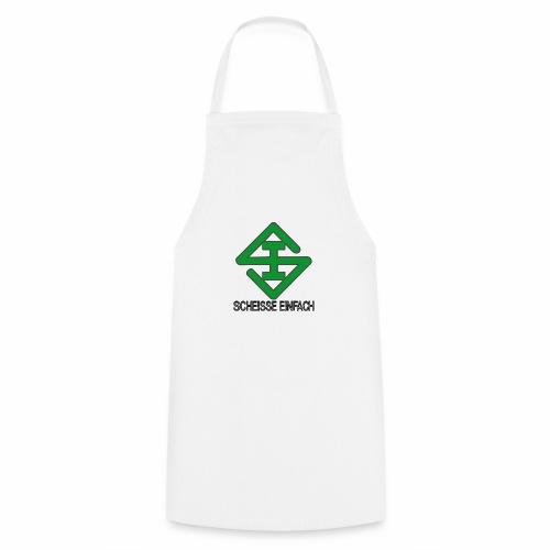 scheisse_einfach_logo_txt - Kochschürze
