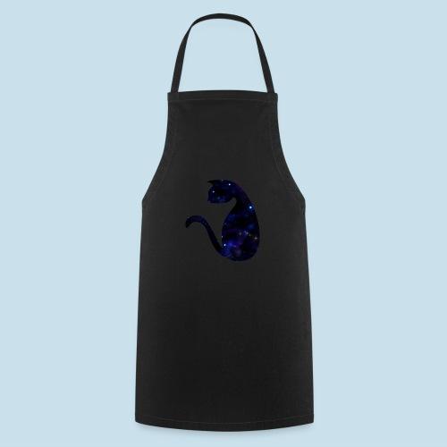 Universums Katze - Kochschürze