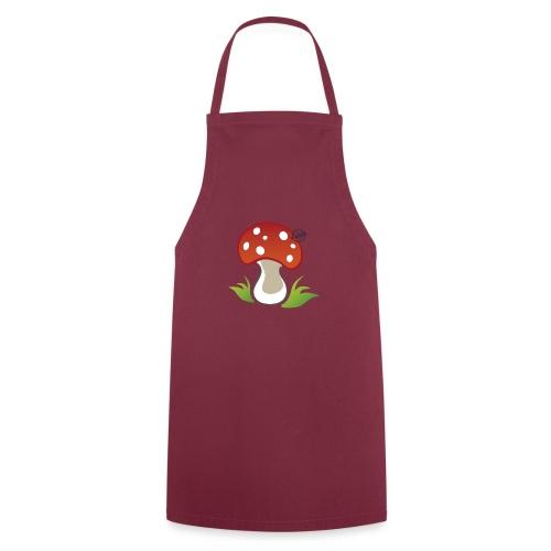 Mushroom - Symbols of Happiness - Cooking Apron