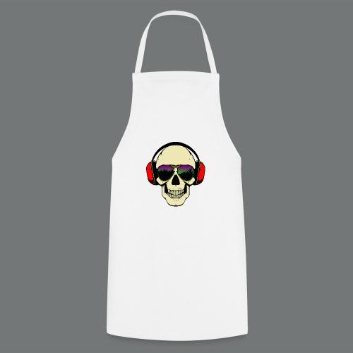 skull dj - Cooking Apron