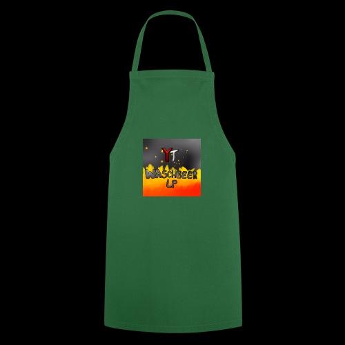 Waschbeer Design 2# Mit Flammen - Kochschürze