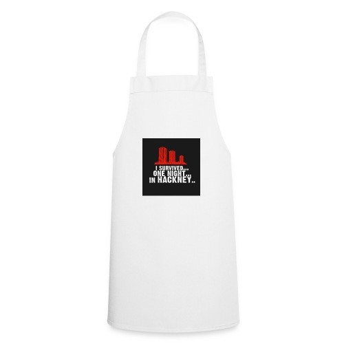 i survived one night in hackney badge - Cooking Apron