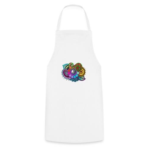 Coloured Nature Mandala - Cooking Apron