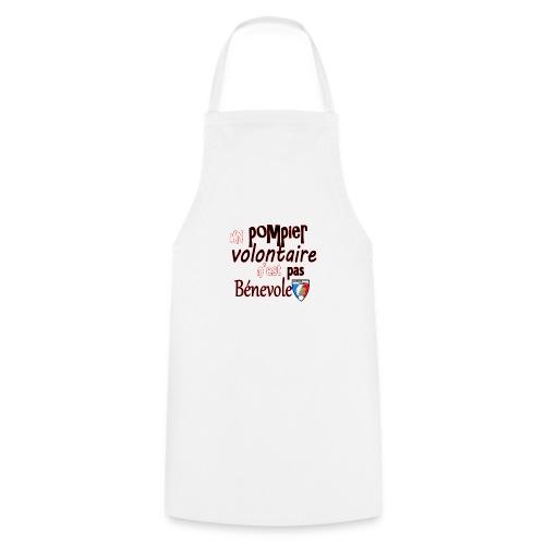 pompier volotaire - Tablier de cuisine