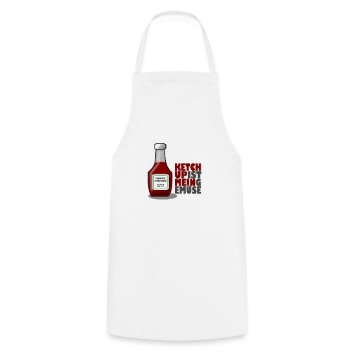 Ketchup ist mein Gemüse (Grillshirt) - Kochschürze