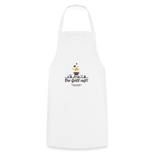 Der Grill ruft - Grillshirt - Kochschürze